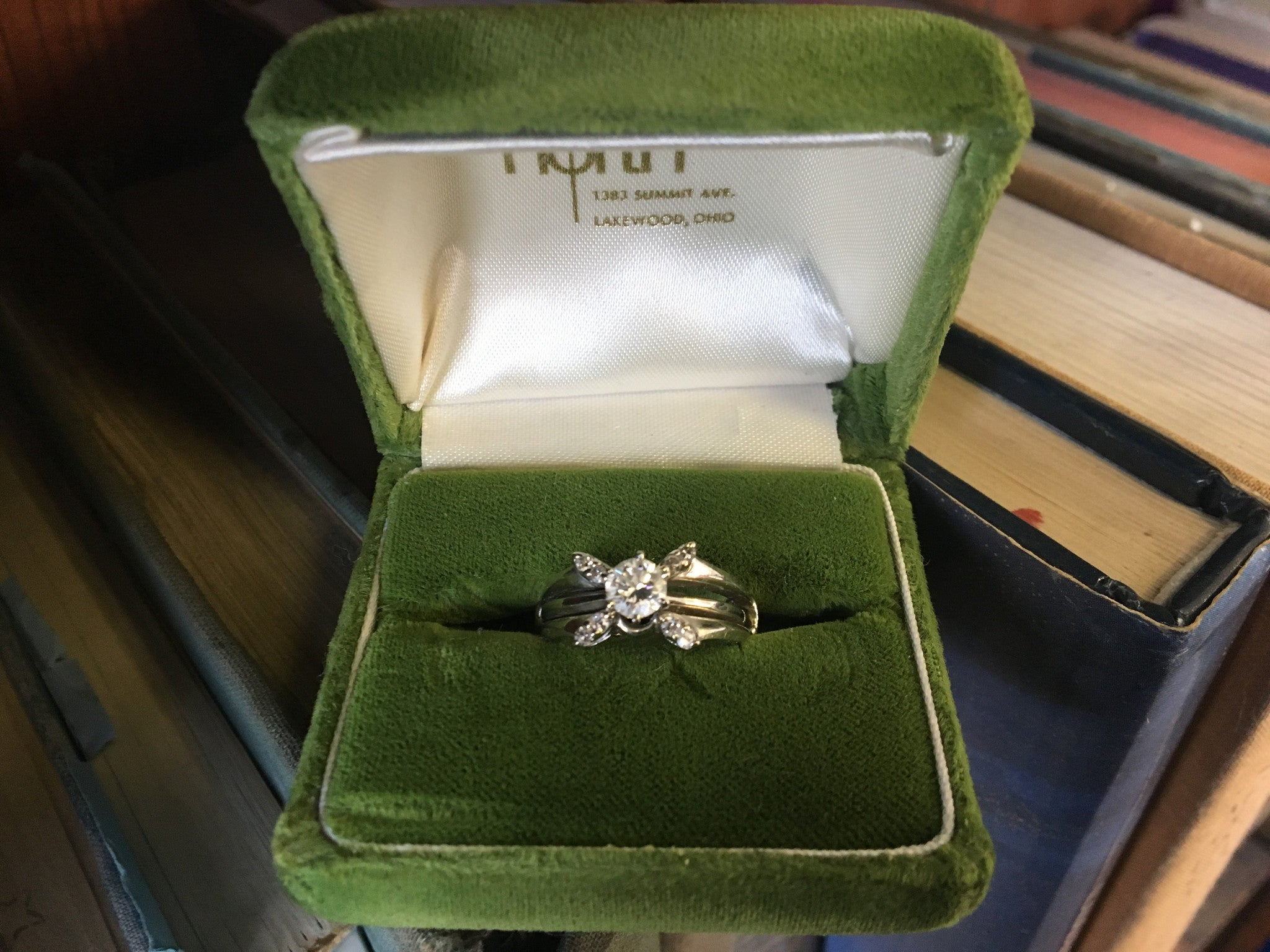 Before Picture of the Engagement Ring