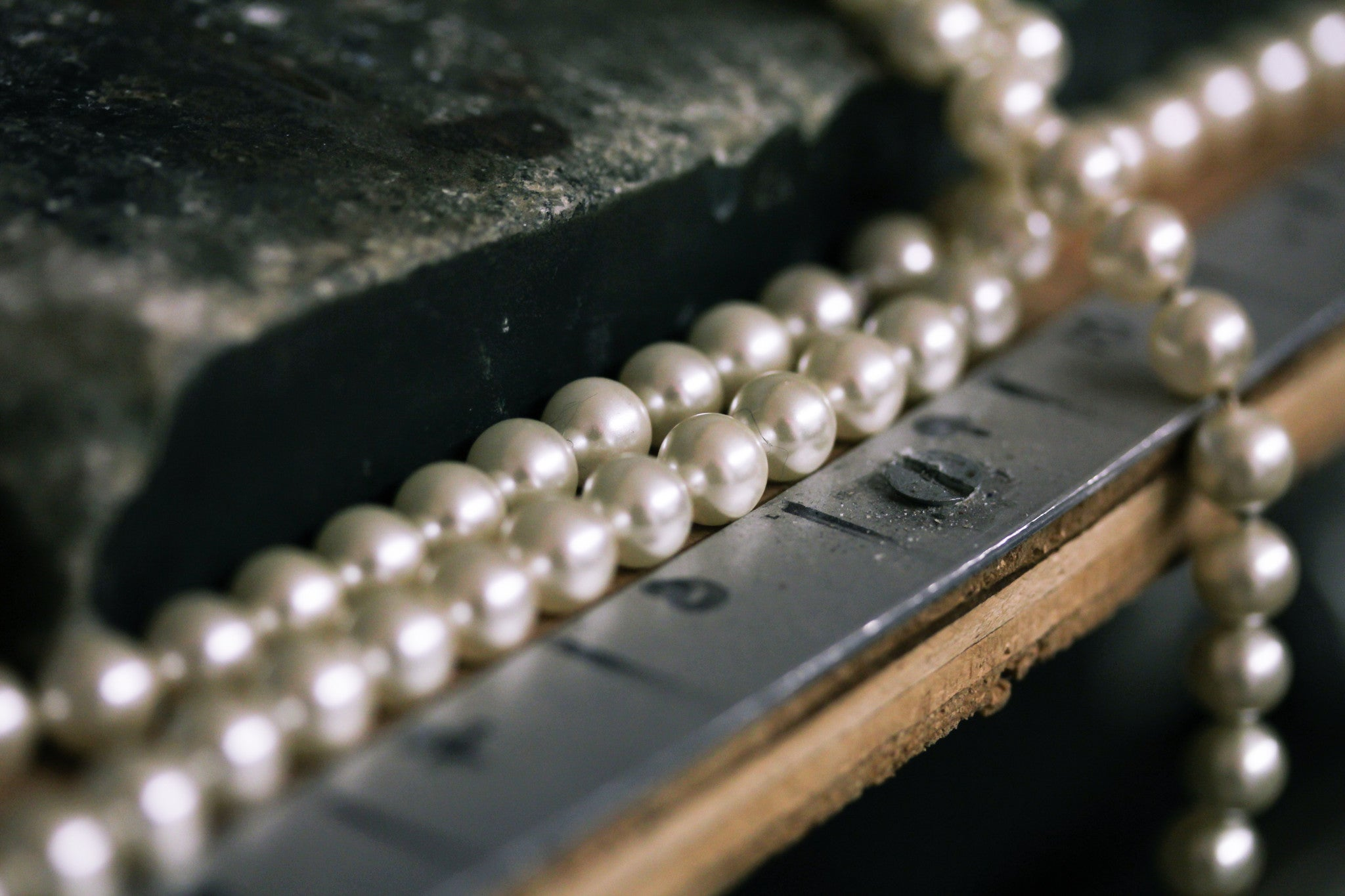 Bead Restringing Pearl Repair