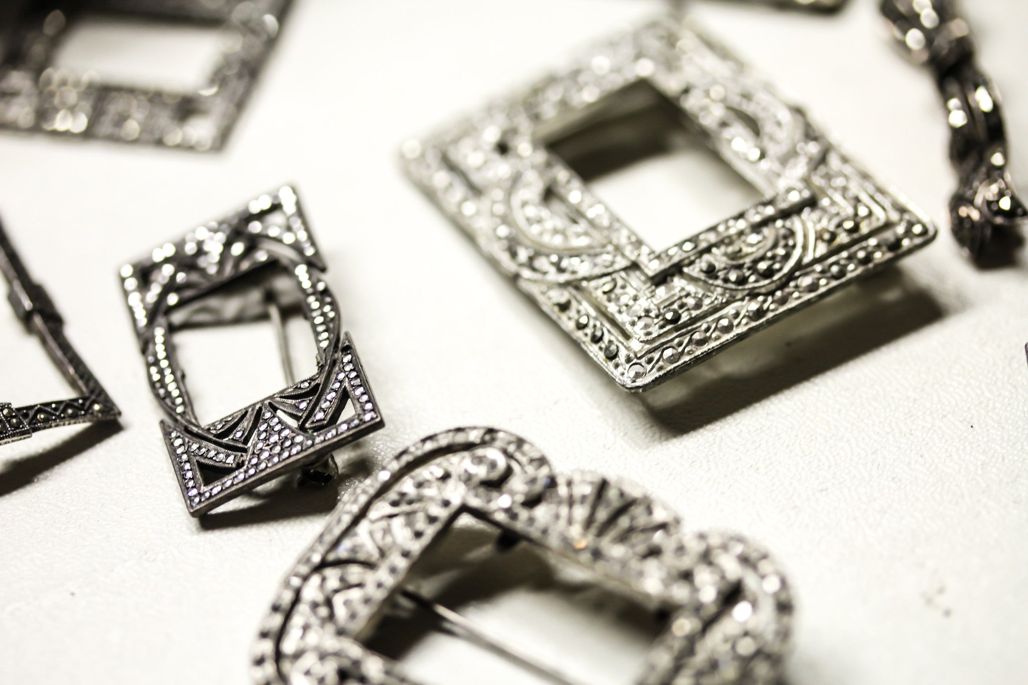 Marcasite Mountings ready for jewelry repair