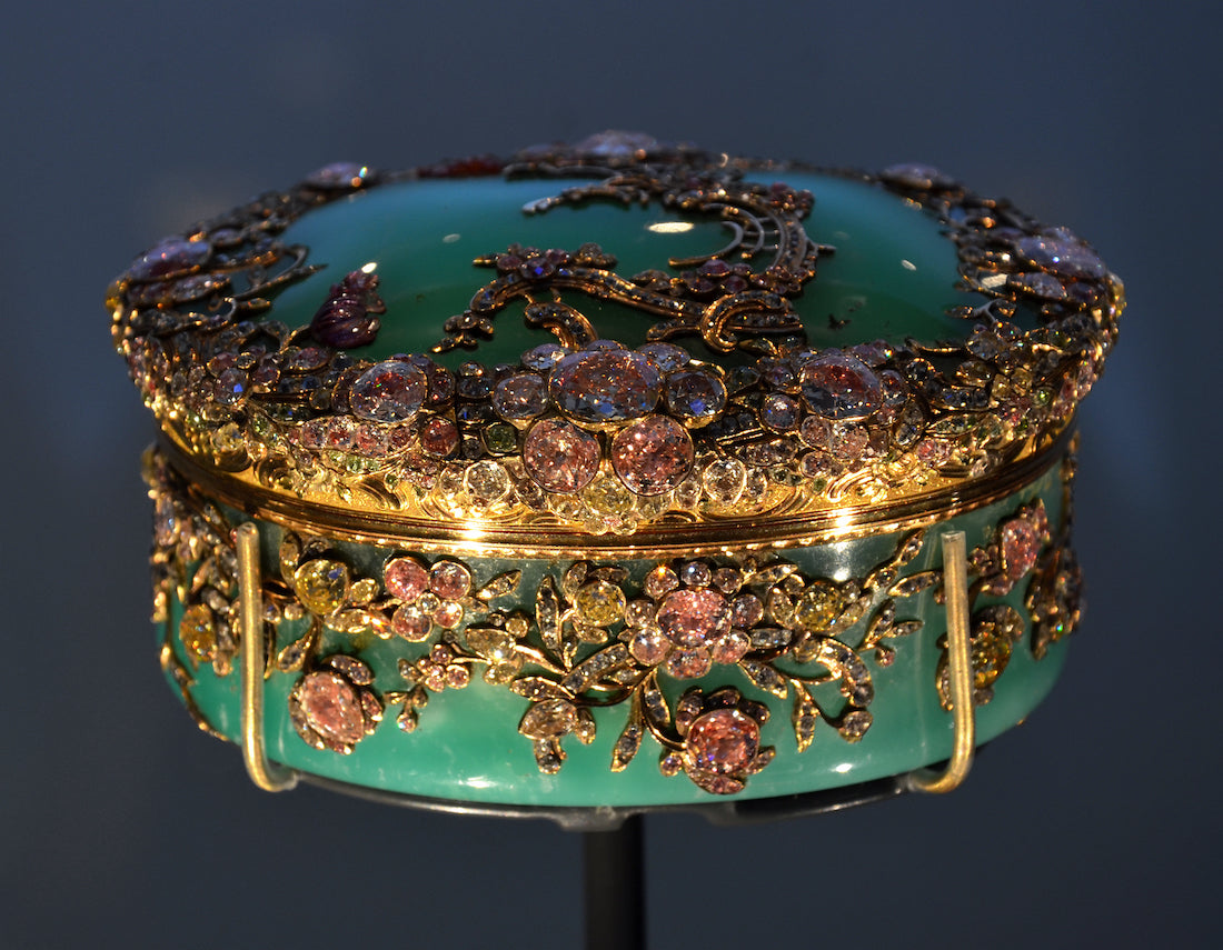 Frederick the Great of Prussia chrysoprase snuffbox