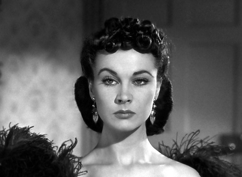 Vivien Leigh in Gone With The Wind (1939), wearing Etruscan Revival earrings
