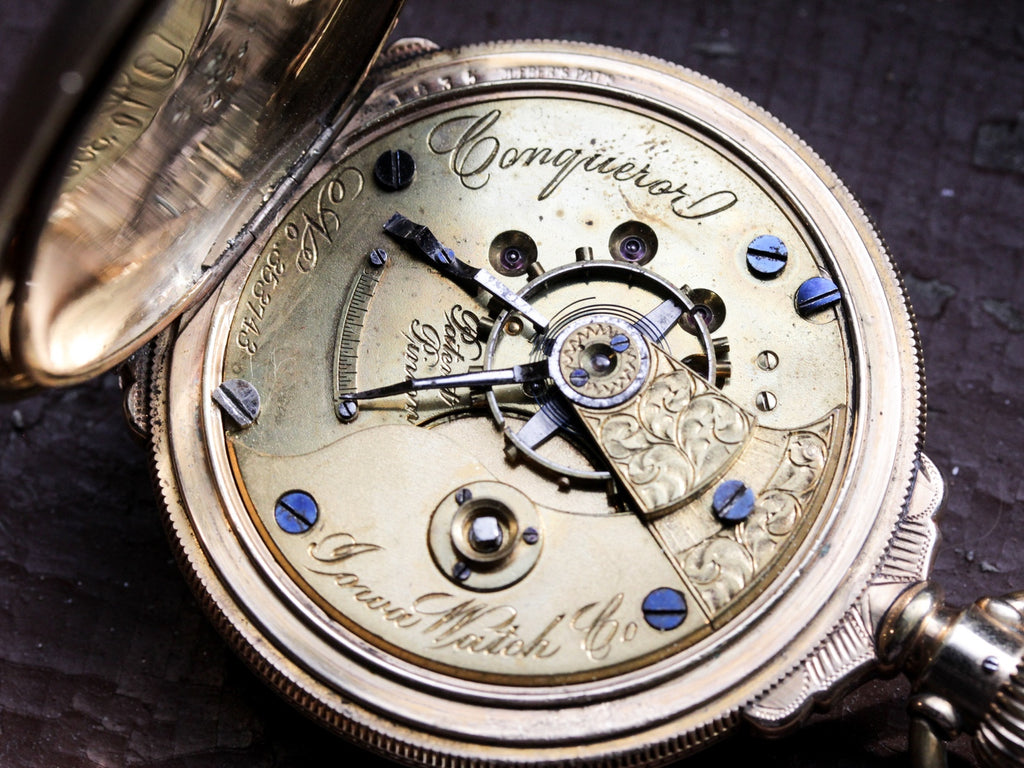 antique pocket watch movement