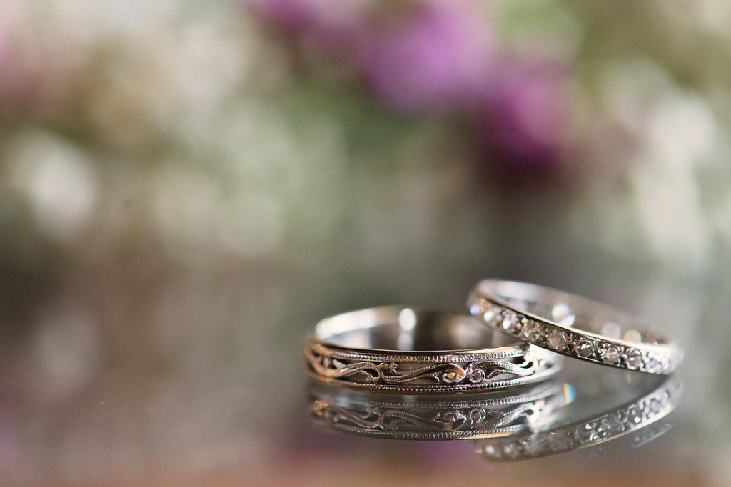 Elizabeth Henry's Wedding Bands