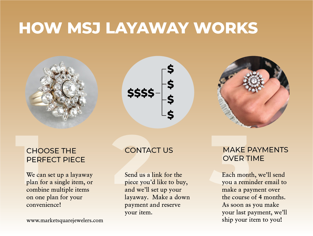 How MSJ Layaway Works
