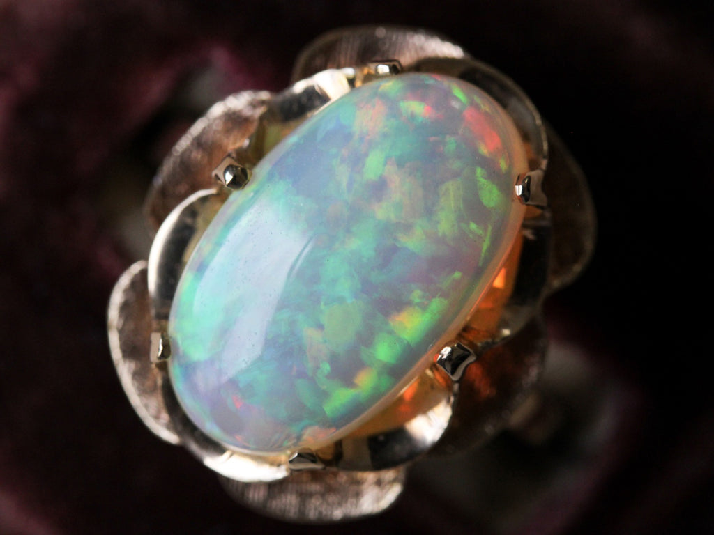 how opals are formed