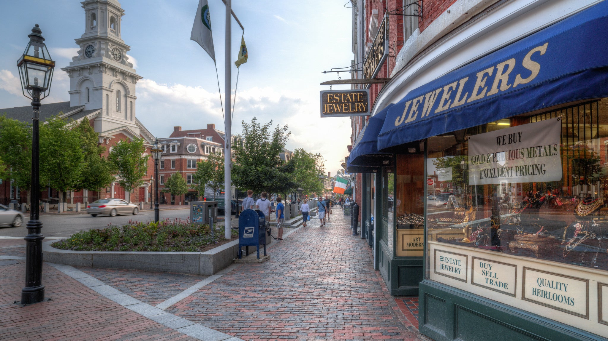 Portsmouth NH Market Square Jewelers