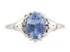 The Abigail Sapphire Solitaire Ring by Elizabeth Henry