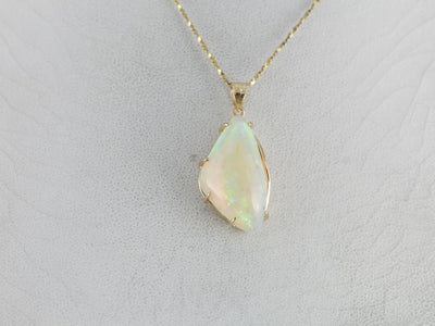 Glowing Opal Cocktail Pendant