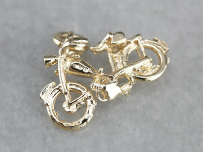 Detailed Motorcycle Charm