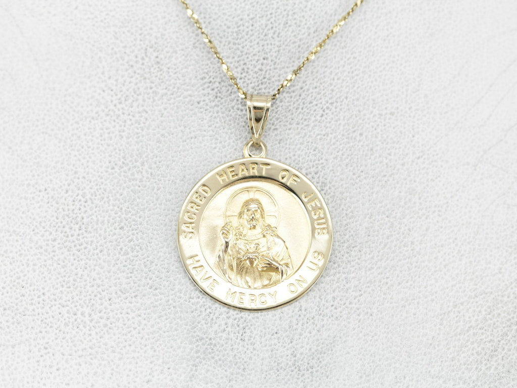 Large Sacred Heart Medallion