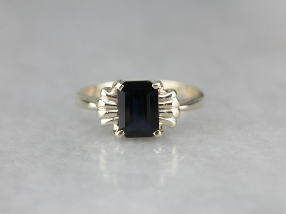Vintage Sapphire Anniversary Ring