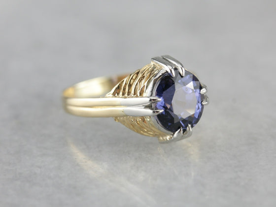 Rare Spinel Solitaire Cocktail Ring