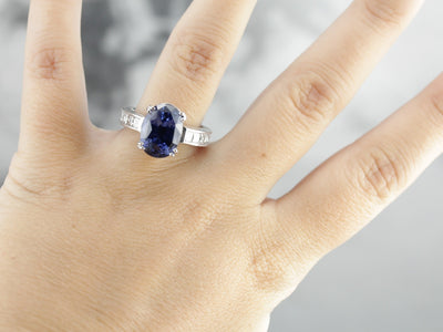 Our Finest Sapphire Cocktail Ring