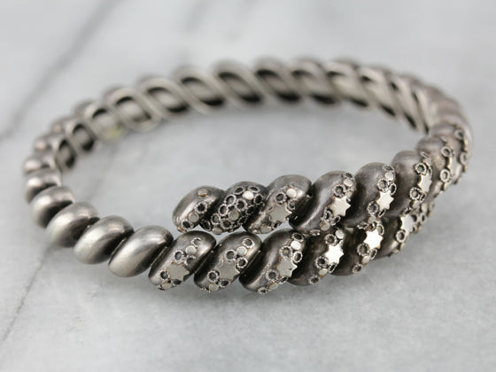 Antique Sterling Silver Bracelet