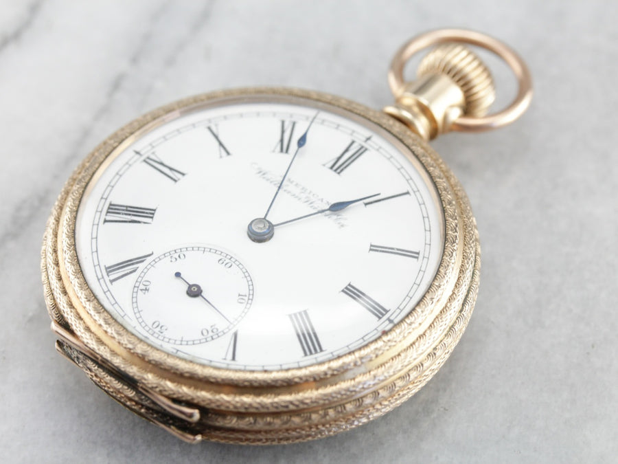 Pocket Watch, Yellow Gold, Victorian