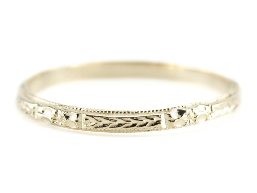 The Mallory 14K Yellow Gold Band by Elizabeth Henry
