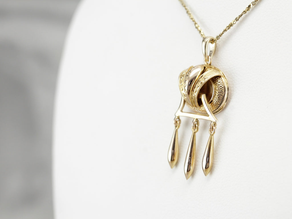 Victorian Yellow Gold Pendant