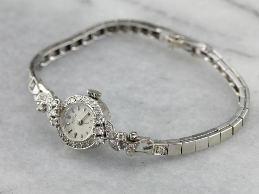 Ladies Diamond Kelbert Wrist Watch