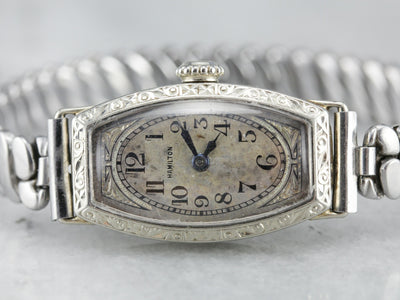 Ladies 1930's Hamilton Wrist Watch