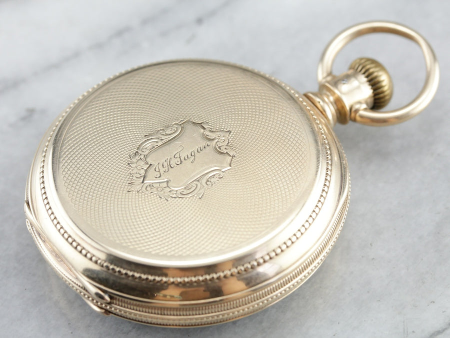 Antique 1880's Elgin Pocket Watch
