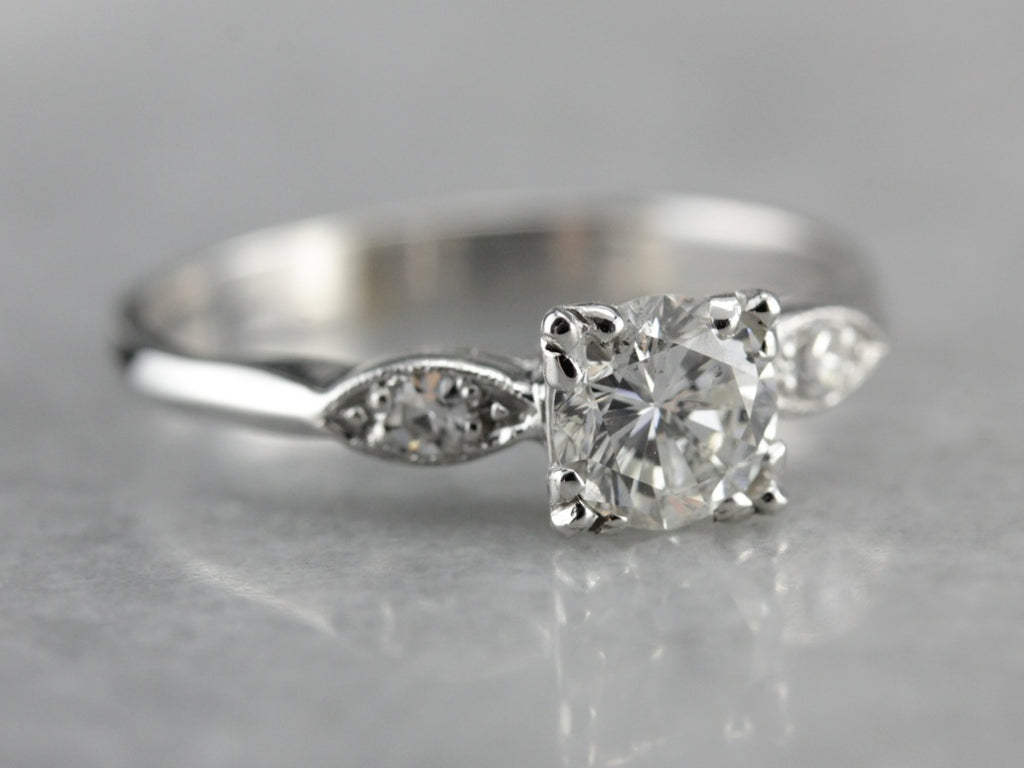 The Kirkland Diamond Engagement Ring from the Elizabeth Henry Collection