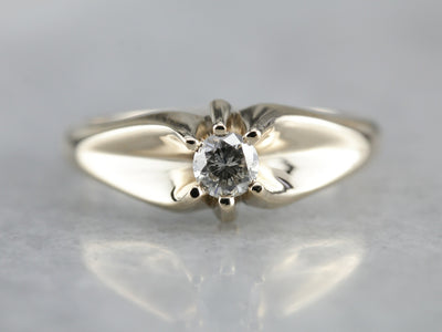 Men's Diamond Solitaire Ring