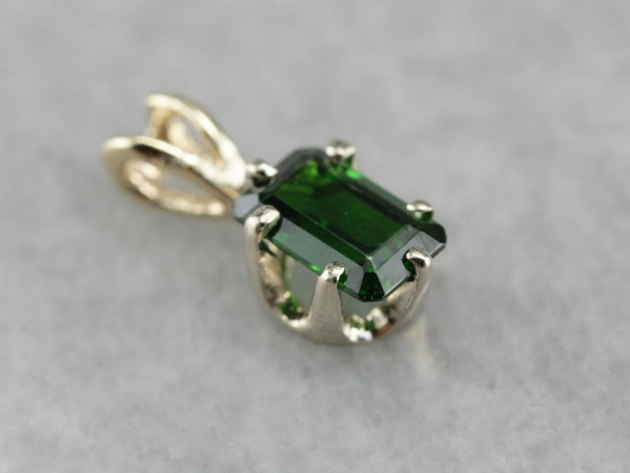 Demantoid Garnet Pendant