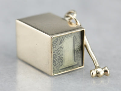 Vintage Emergency Funds Charm