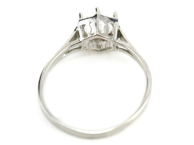 The Longfellow Setting Semi-Mount Engagement Ring by Elizabeth Henry