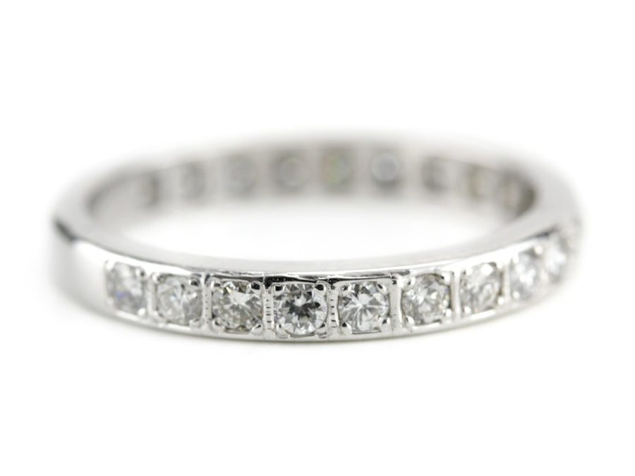 The Diamond Maxine Art Deco Wedding Band from The Elizabeth Henry Collection