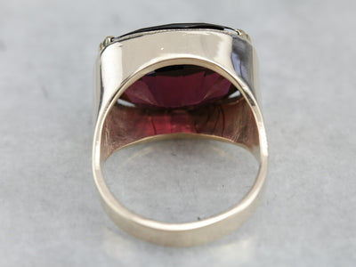 Rhodolite Garnet Statement Ring