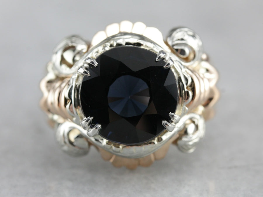 Retro Spinel Cocktail Ring