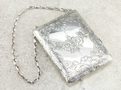 Antique Sterling Silver Coin Purse
