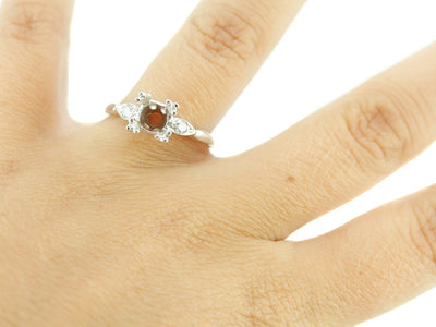 The Bradbury Diamond Setting Semi-Mount Engagement Ring by Elizabeth Henry