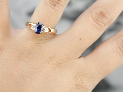 Vintage Sapphire Engagement Ring