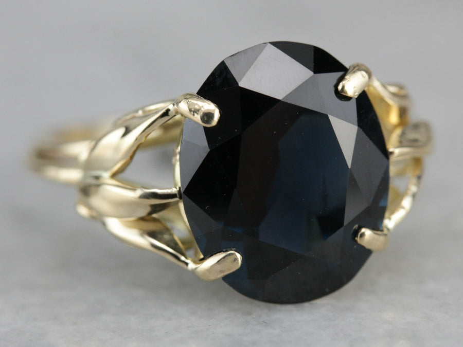 Spinel Cocktail Ring in Yellow Gold
