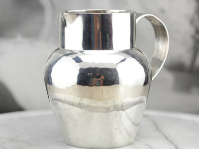 Antique Sterling Silver Pitcher