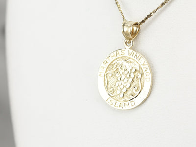 Martha's Vineyard Keepsake Charm
