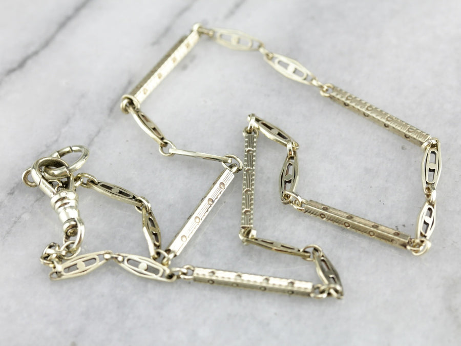 Vintage Pocket Watch Chain