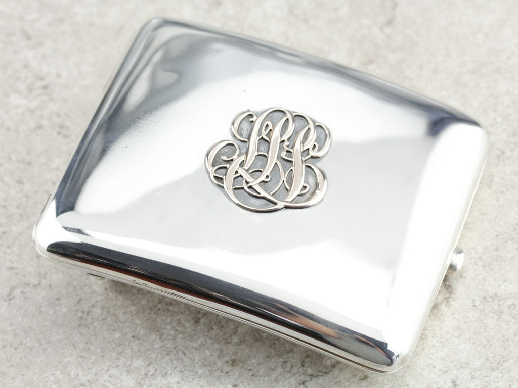 Monogramed Belt Buckle Case