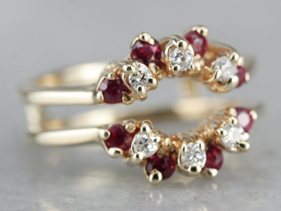 Diamond and Ruby Ring Enhancer