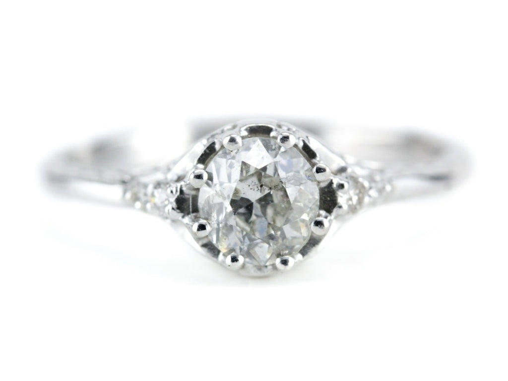 The Atwood Diamond Engagement Ring from The Elizabeth Henry Collection