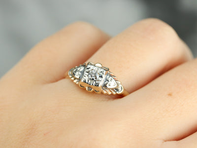 Vintage 1930's Diamond Engagement Ring