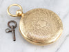 Antique 1860  J.W. Tucker Pocket Watch
