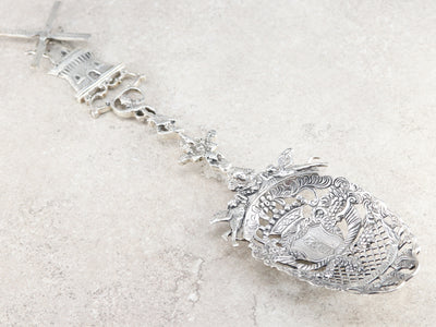 Sterling Silver Amsterdam Serving Spoon