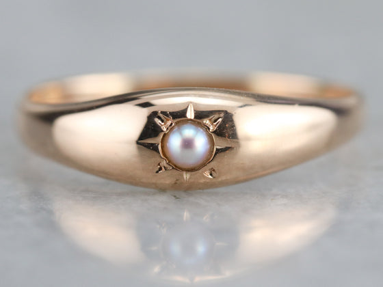 Victorian Seed Pearl Ring