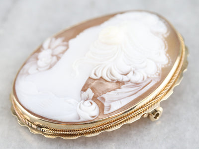 Vintage Cameo Pin or Pendant