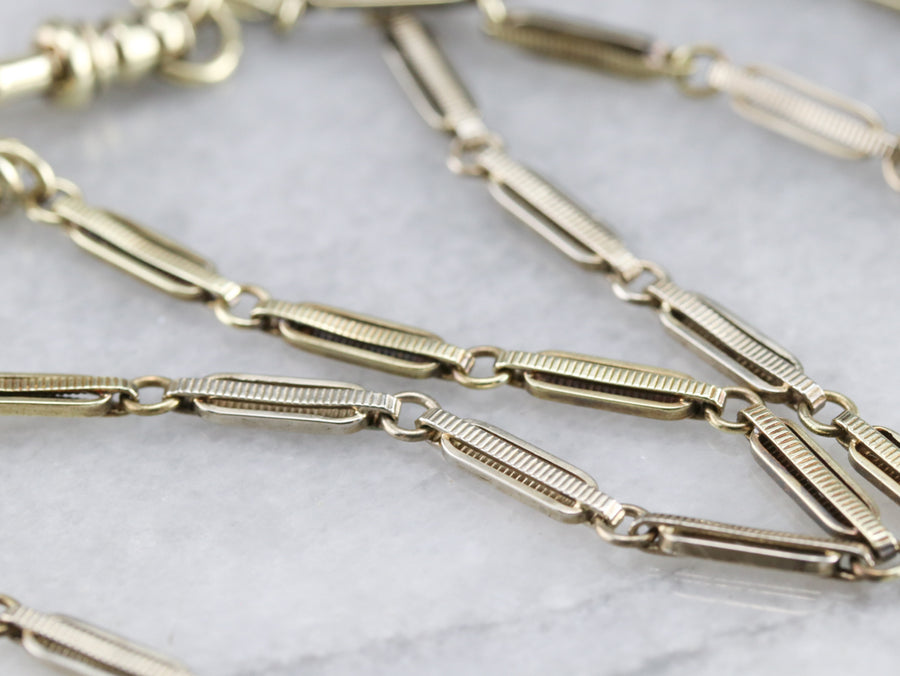Retro 1930s Vintage Pocket Watch Chain