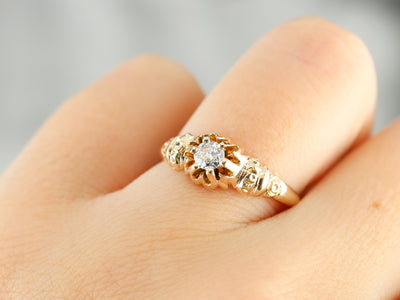 Buttercup Diamond Engagement Ring