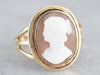 Vintage Cameo Ring in Yellow Gold